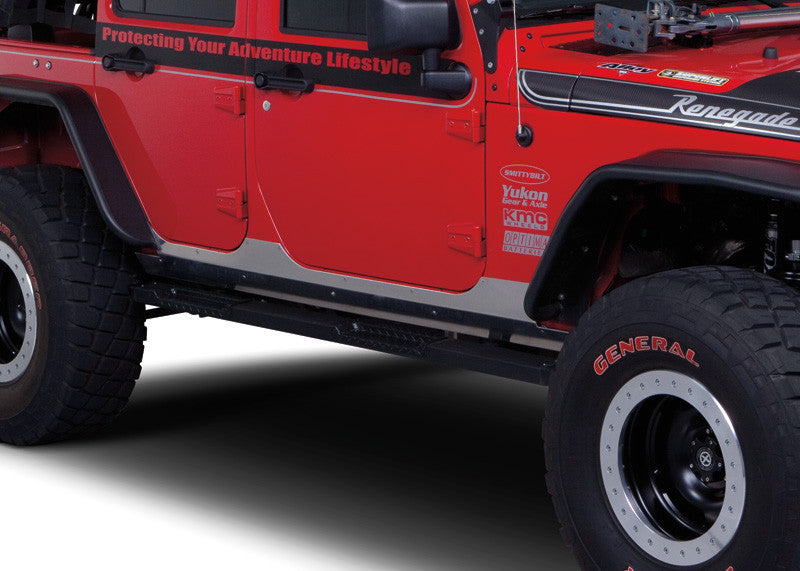 Warrior Products Jeep JK HD Aluminum Side-plate