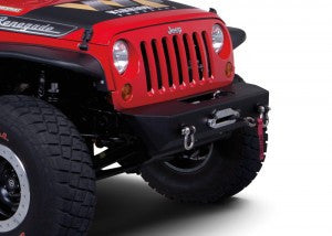 Warrior Products Jeep JK Front Stubby Bumper with D-Ring Mounts