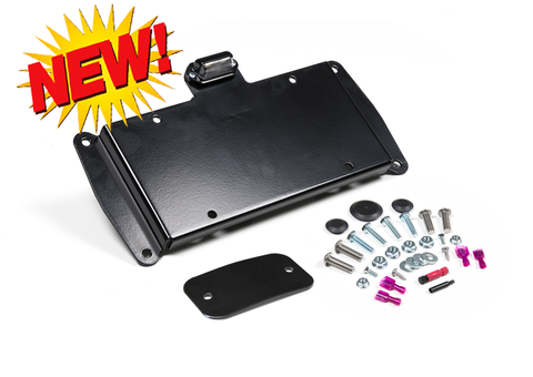 JK Jeep JK License Plate Relocation Kit w/ Light