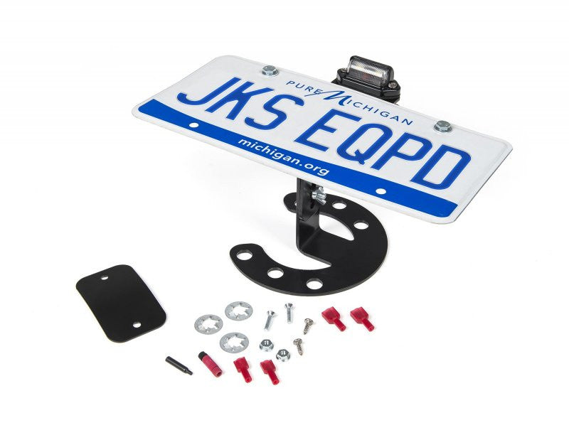 JKS Jeep Spare Tire License Plate Mount