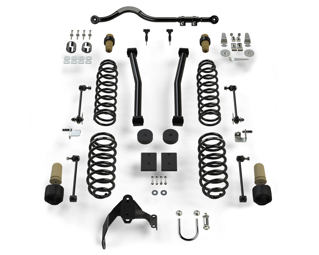 "TeraFlex Jeep JKU 4-Door: 2.5"" Sport ST2 Suspension System"