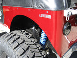 GenRight Jeep Full Corner Guard Blank - Aluminum