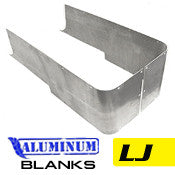 GenRight Jeep LJ Full Corner Guards Blank - Aluminum