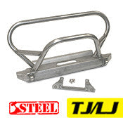 GenRight Jeep TJ / LJ Front Bumper w/ Trail Stinger - Steel