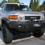 Expedition One 07-15 Toyota FJ Cruiser Front Basic Bumper