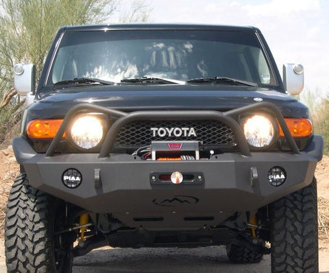 Expedition One 07-15 Toyota FJ Cruiser Diamond Front Bumper
