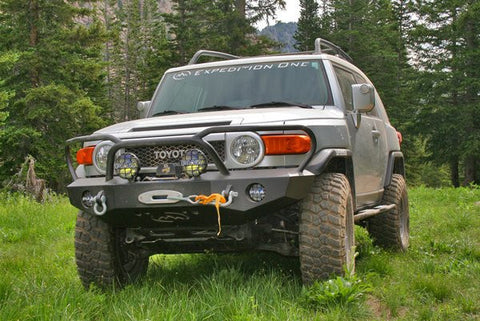 Expedition One 05-15 Toyota FJ KodiaK Front Bumper