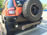 Expedition One 05-15 Toyota FJ Rear Bumper w Swingout Tire Carrier