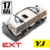 GenRight Jeep YJ 17 Gal EXT Gas Tank