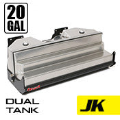 GenRight Jeep JK 20 Gal Dual Gas Tank