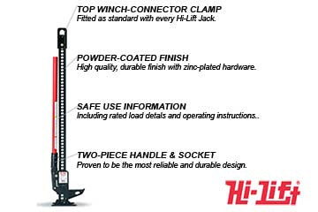 "Hi-Lift 60"" Cast/Steel Jack"