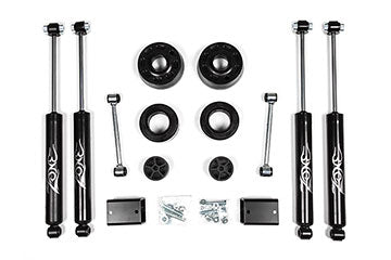 Zone Offroad Jeep JL 2 inch Suspension System - 2 & 4 Door