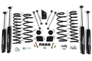 Zone Offroad Jeep JL 3 Inch Suspension System - 4 Door