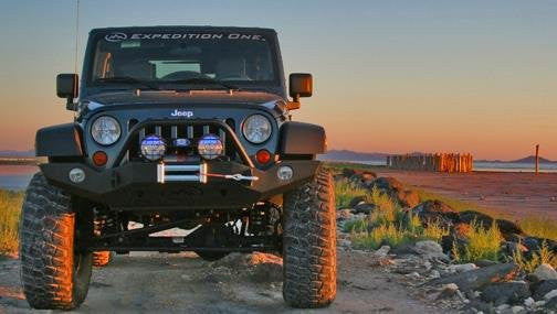 Expedition One 07-16 Jeep JK Trail Series Full Width Front Bumper