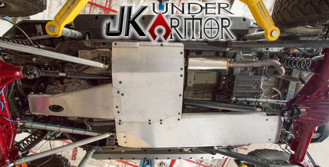 Artec Industries Jeep JK 2 Door Under Armor Belly Pan Kit