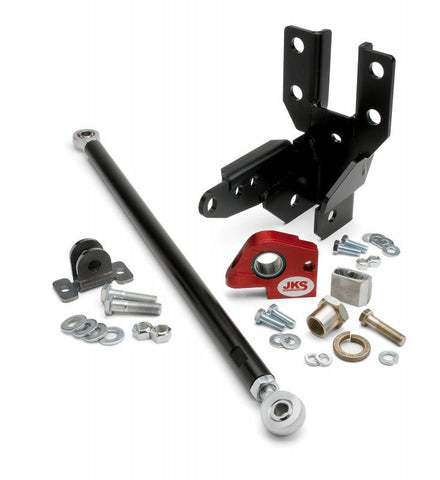 JKS Jeep JK Front Trackbar & Selector Shaft Reinforcement Bracket