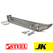 GenRight Jeep JK Rear Bumper - Steel