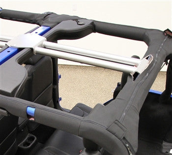 Rock Hard 4x4 Jeep JK Rear Overhead Center Bars 07-16