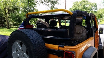 Rock Hard 4x4 Jeep JK 2 Door Straight Across the Rear Bar