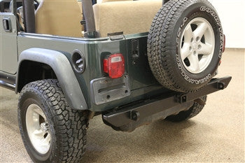 Rock Hard 4x4 Jeep TJ / LJ, YJ, CJ Rear Bumper NO Tirer Carrier