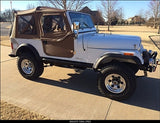 Rock Hard 4x4 Jeep CJ-7 Rock Sliders w/ Step