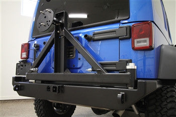 Rock Hard 4x4 Jeep JK Rear Bumper w/ Tire Carrier