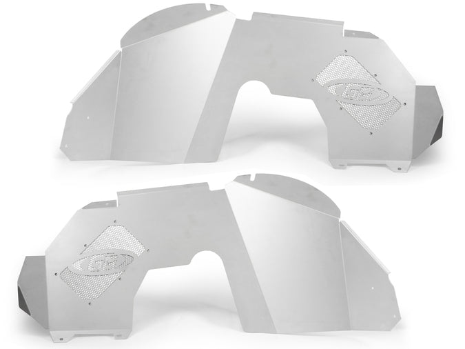 Gen-Right Jeep JL/JLU ALUMINUM FRONT INNER FENDERS (SILVER) 2&4 Door