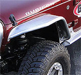 GenRight Jeep JK 4 Inch Front Tube Fenders - Aluminum