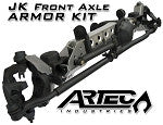 Artec Industries Jeep JK Front Axle ARMOR KIT