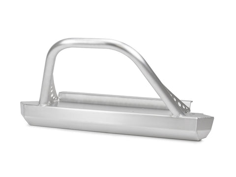 GenRight Jeep CJ Front Winch Bumper w/ Guard - Aluminum