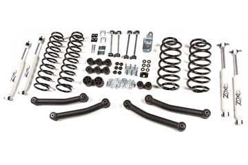 Zone Offroad Jeep TJ & Unlimited 4 Inch Lift Kit 97-06