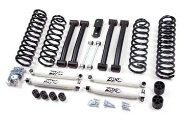 Zone Offroad Jeep ZJ Grand Cherokee 4 Inch Lift Kit, 93-98