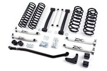 Zone Offroad Jeep WJ Grand Cherokee 4 Inch Lift Kit, 99-04