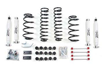 Zone OffroadJeep TJ & Unlimited 4.25 Inch Lift Kit