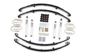 Zone Offroad Jeep YJ 2 Inch Lift Kit, 87-95