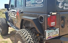 Artec Industries Jeep JK Rear Fenders with Body Pannel