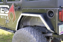 Artec Industries Jeep JK Rear NightHawk Fender Rock Rub Guard