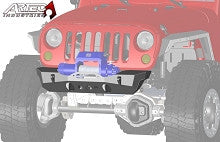 Artec Industries Jeep JK Front Stubby NightHawk Series Bumper