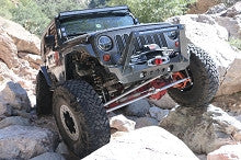Artec Industries Jeep JK Front NightHawk Bumper with Blade Stinger