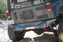 Artec Industries Jeep JK Rear NightHawk Series Bumper