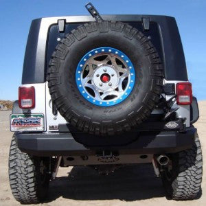M.O.R.E. Jeep JK Rear Bumper & Tire Carrier