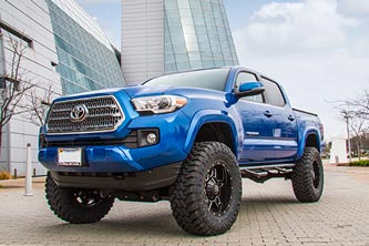 BDS Toyota Tacoma 4 inch Lift Kit 2016+