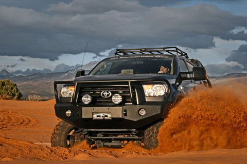 Expedition One 07-13 Toyota Tundra Range Max Front Bumper Bull Bar