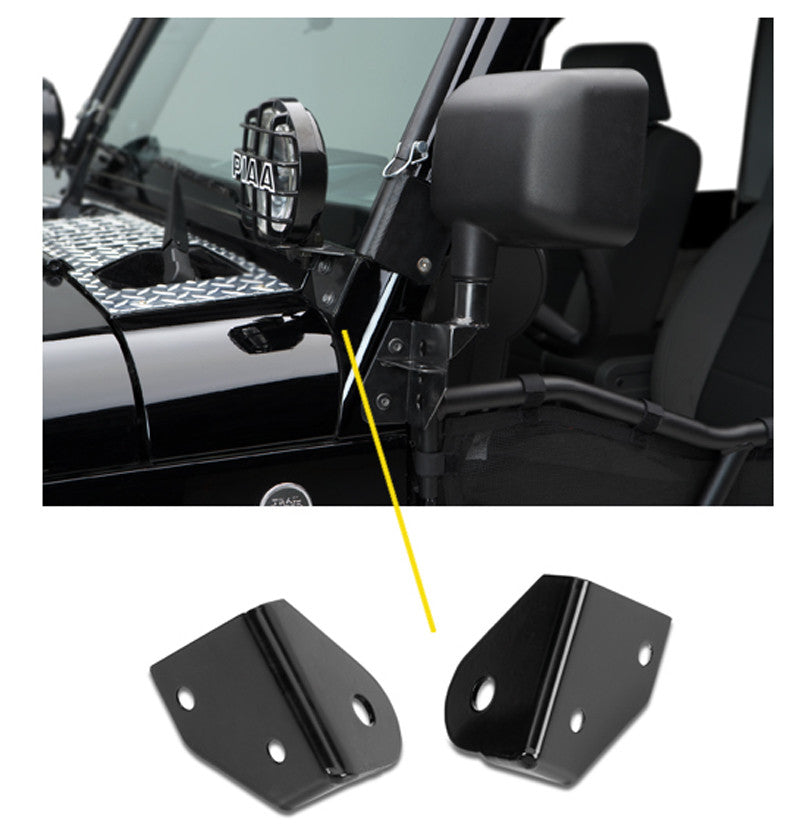 Warrior Products Jeep JK Windshield Light Brackets