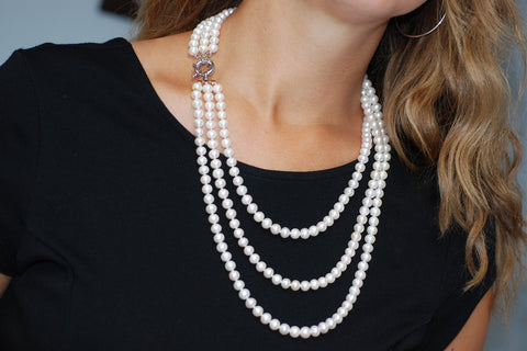 How to Care for Pearls.