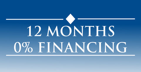 12 months 0% Financing & Layaway Terms