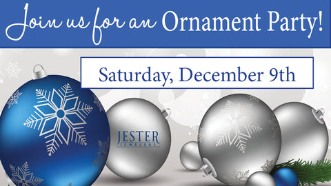 Jester Jewelers Ornament Party!