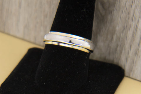Old Wedding band welded on new band
