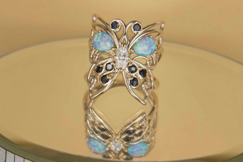 Custom Butterfly Ring