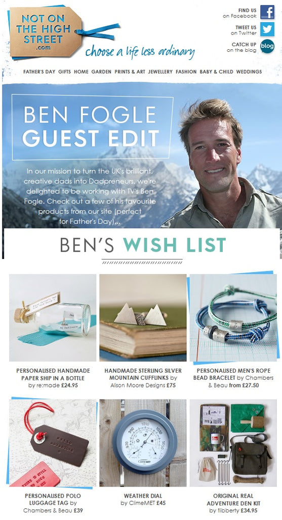 ClimeMET and Ben Fogle